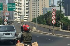 Ini Alasan Motor Dilarang Melintas di Jalan Layang Casablanca