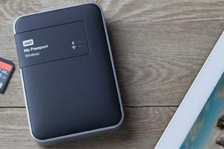 Harddisk portable Western Digital My Passport Wireless