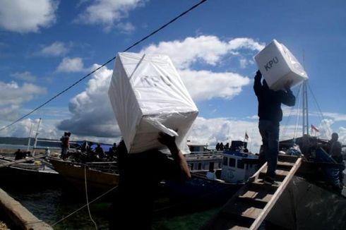 KPU Buton Selatan Prioritaskan Kirim Logistik Pemilu ke Pulau Terluar untuk Antisipasi Keterlambatan