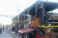 Tiga Orang Diperiksa Terkait Kebakaran Bus Transjakarta