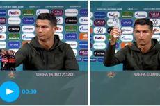 CR7 dan Pogba Singkirkan Botol Sponsor, Ini Respons UEFA