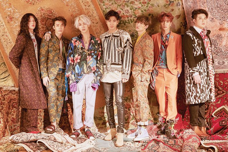 Boyband K-pop Super Junior