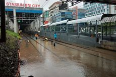 Jakarta Banjir, Berikut 10 Perubahan Jadwal Keberangkatan KA Jarak Jauh