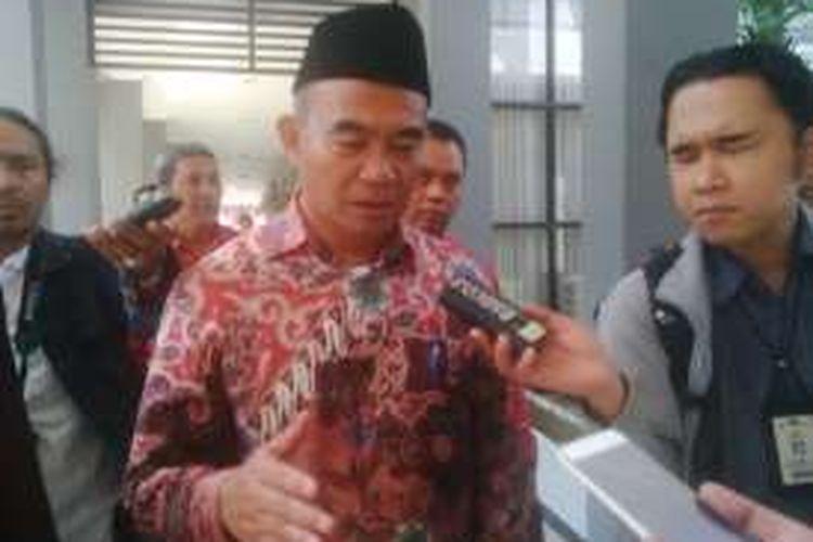 Mendikbud Muhajir Effendi di Surabaya, Sabtu (6/8/2016).