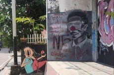 Ada Mural Jokowi Mirip Badut di Pangkalpinang, Ini Sikap Pol PP dan Polisi