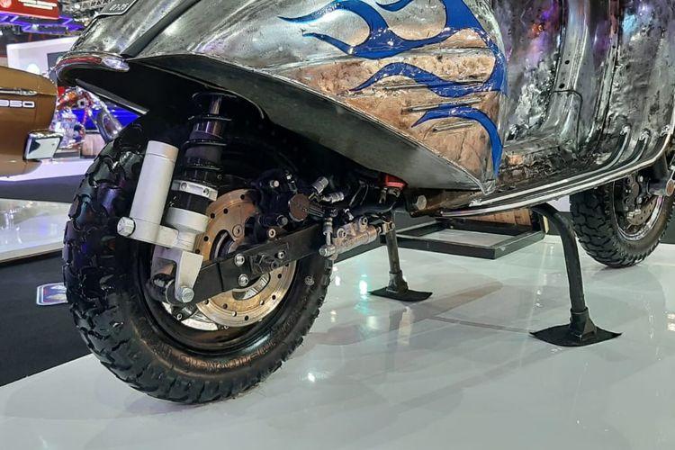Vespa Sprint listrik Elders Garage di IIMS Hybrid 2021