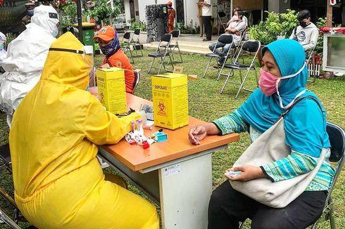 4 Pedagang Pujasera Blok S Positif Corona, 52 Orang Jalani Rapid Test