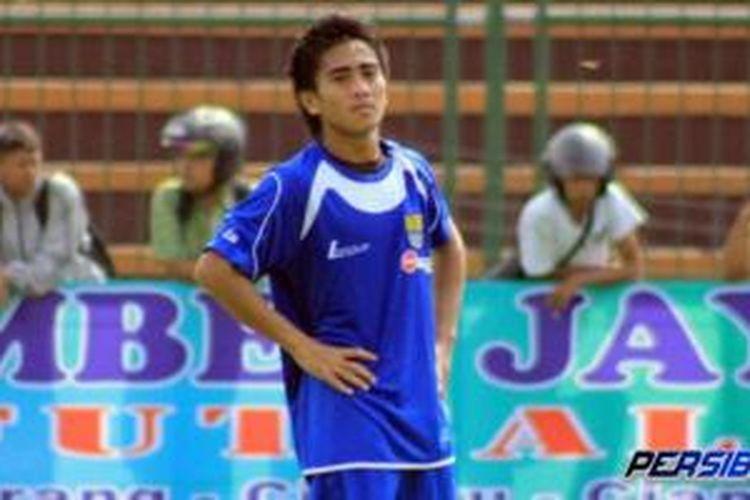 Gelandang anyar Persib Bandung, M Taufiq.
