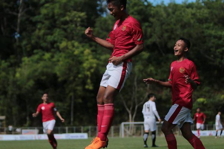 Kemenangan Busan FC membuat Timnas Pelajar Indonesia U-15 tampil sebagai juara Grup A dengan raihan 6 poin.