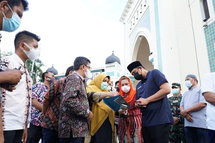 Wali Kota Medan Bobby Nasution merevitalisasi Kota Lama Kesawan, yakni kawasan ikonik sarat nilai sejarah yang ada di Kota Medan.