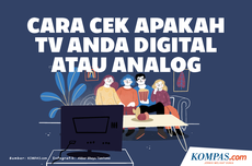 INFOGRAFIK: Cara Cek Apakah TV Anda Digital atau Analog