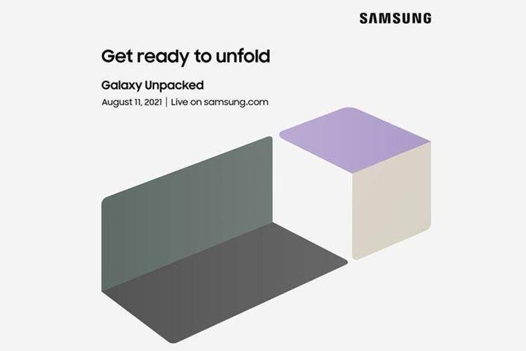 Samsung gelar acara peluncuran bertajuk Galaxy Unpacked pada 11 Agustus 2021