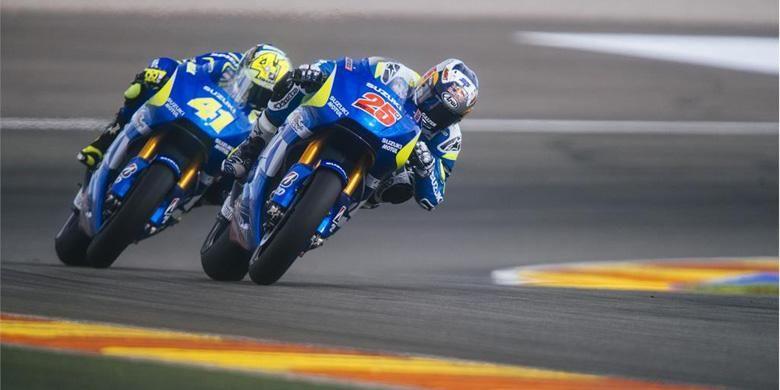 Suzuki MotoGP siap tempur tahun ini dengan kekuatan penuh.