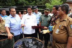 Limbah Minyak Hitam Cemari Perairan Bintan, Plt Gubernur Kepri Marah