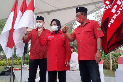Respons Risma Eri Cahyadi-Armuji Dikeroyok 8 Partai Koalisi di Pilkada Surabaya