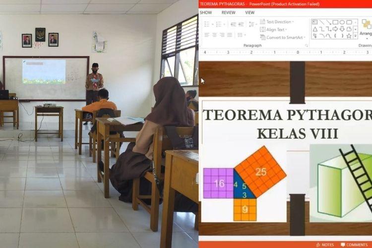 Pelaksanaan PTM terbatas yang menerapkan protokol kesehatan dan dipadukan dengan pembelajaran tatap maya yang memanfaatkan teknologi dapat menutup kekurangan pembelajaran yang terjadi di masa pandemi.