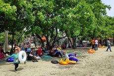 Libur Pemilu, Pantai di Ancol Jadi Pilihan Rekreasi