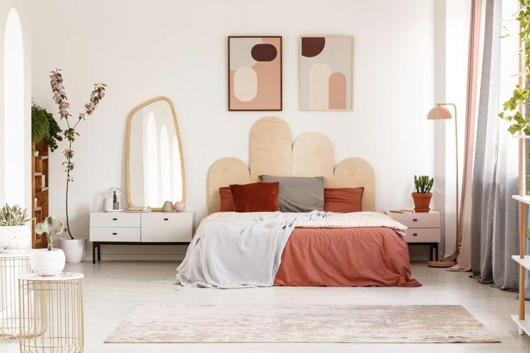 5 Tips memposisikan tempat tidur di kamar