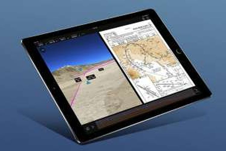 Software Flight Preview buatan Honeywell Aerospace.