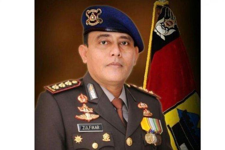 Foto almarhum Kombes Pol Zulfikar Tarius, adik kandung Gubernur Sumut Edy Rahmayadi.