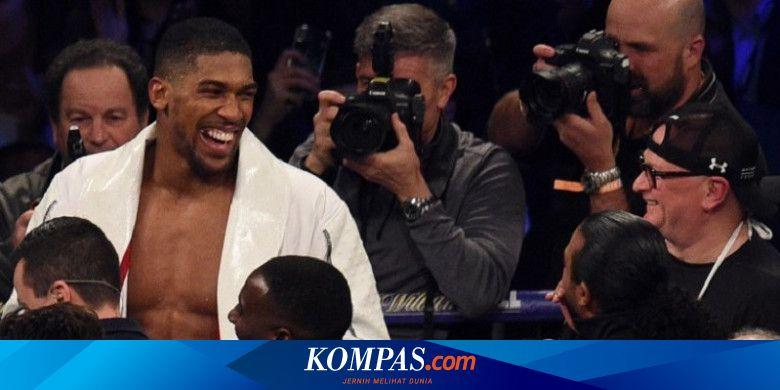 Anthony Joshua Tak Akan Lawan Mike Tyson karena Ta