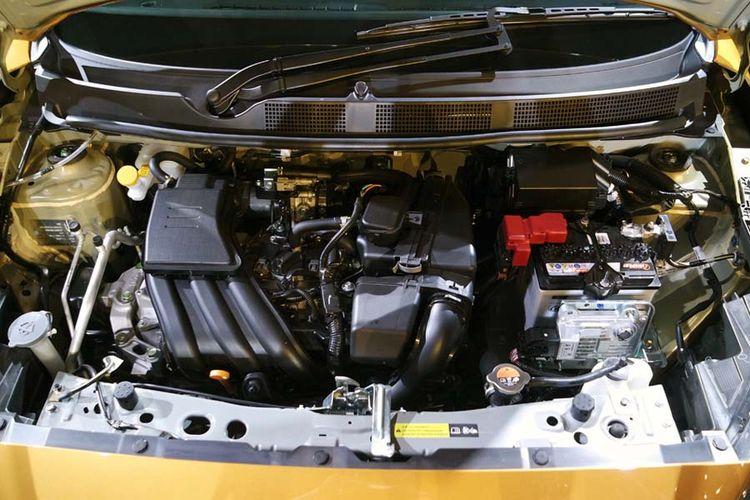 Datsun Cross resmi diperkenalkan untuk dunia, di Jakarta, Kamis (18/1/2018). Cross menggunakan mesin 1.2L yang sama seperti GO+, namun ada perubahan besar tenaga di transmisi CVT.
