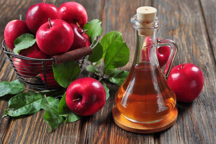 ilustrasi cuka apel