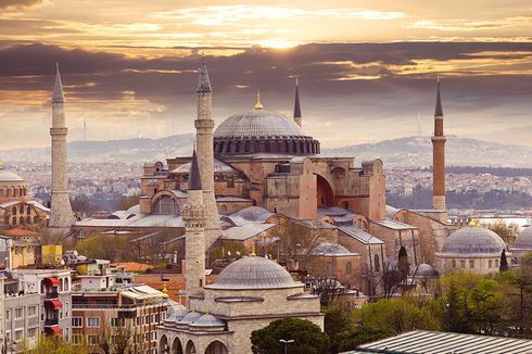 Tokoh Muslim Pakistan dan Indonesia Sambut Hagia Sophia jadi Masjid