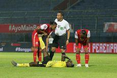 Persija Vs Barito - 2 Pemain Cedera, Babak Pertama Berakhir 0-0