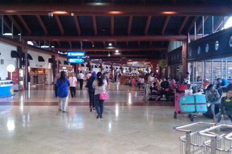 Kondisi Terminal 2 Bandara Soekarno-Hatta, Tangerang, beberaoa waktu lalu.