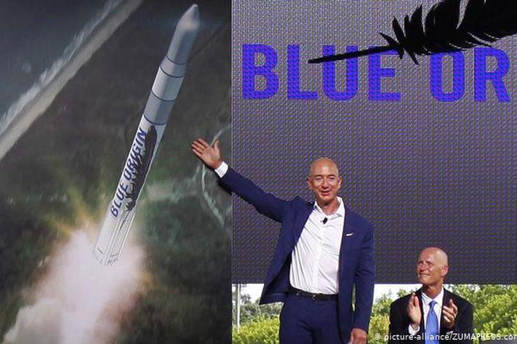 Jeff Bezos dan Blue Origin.