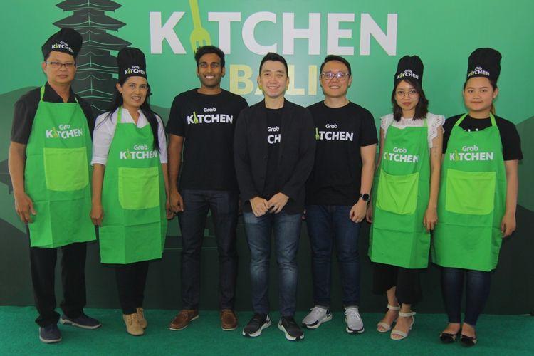 Grab menggandeng sejumlah merchant favorit untuk kerja sama operasional GrabKitchen di Renon, Bali.