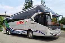 Bus dengan Sasis Tronton, Lebih Cocok untuk Jalur Tol