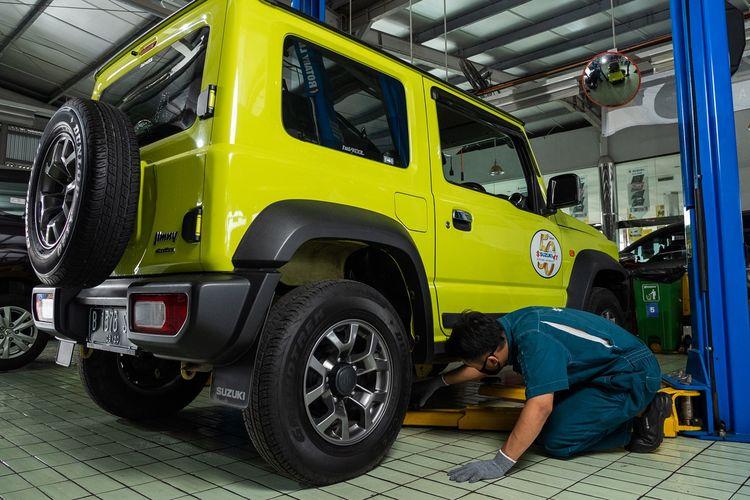 Suzuki Recall Jimny di Indonesia