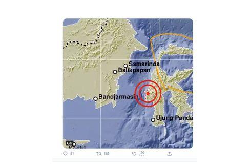 Gempa Magnitudo 5,2 di Majene, Sejumlah Bangunan Ambruk