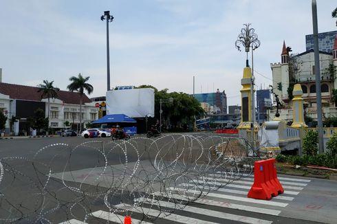 350 Personel Satpol PP Jaga Area Demo Tolak Omnibus Law di Jakarta