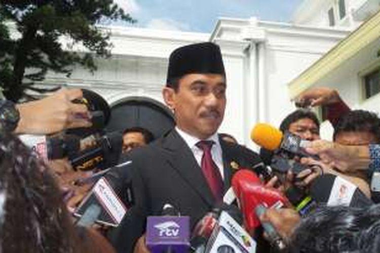 Kepala Badan Nasional Penanggulangan Terorisme Suhardi Alius.