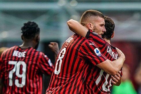 AC Milan Menang atas Roma, Pioli Puji Pengganti Ibrahimovic