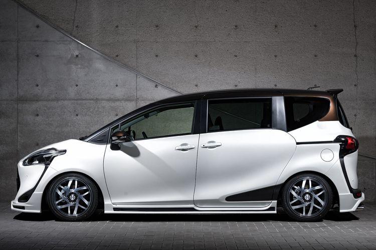 Body kit Toyota Sienta Mz Speed