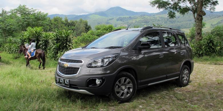 Chevrolet Spin Activ bisa menjadi andalan saat keluar dari rutinitas.