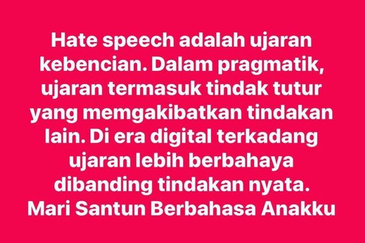 Rektor Tanggapi Pernyataan Dosen Unnes Soal Hate Speech di Akun Instagramnya