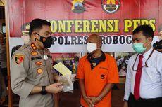Asyik Isap Ganja di Kamar, Oknum Kades di Grobogan Diringkus Polisi