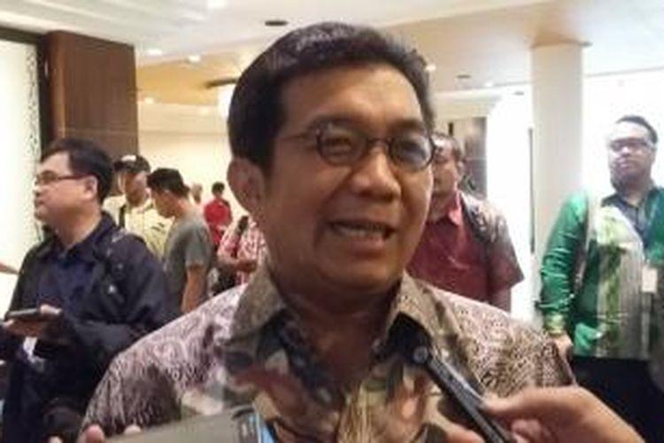 Ketua Dewan Komisioner Otoritas Jasa Keuangan (OJK), Muliaman Darmansyah Hadad.