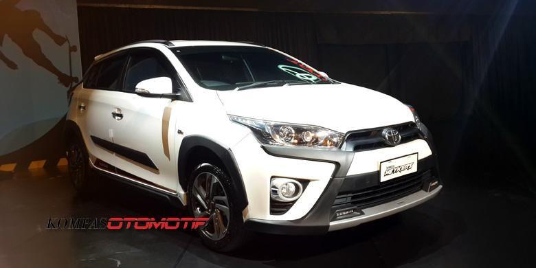 Toyota Yaris Heykers dikeroyok desainer lokal.