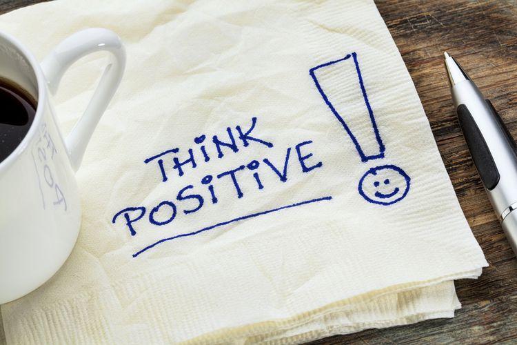 Ilustrasi berpikir positif