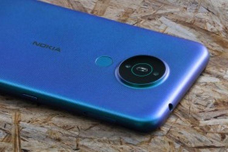 Tampak punggung Nokia 1.4
