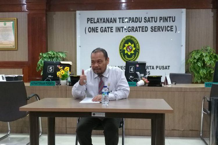 Kepala Humas Pengadilan Negeri (PN) Jakarta Pusat, Makmur