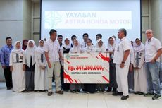 Peringati Sumpah Pemuda, Honda Berikan Beasiswa ke 30 Sekolah