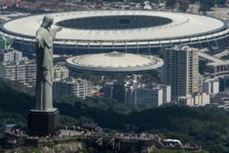 Patung Kristus Penebus merupakan ciri kota Rio de Janeiro