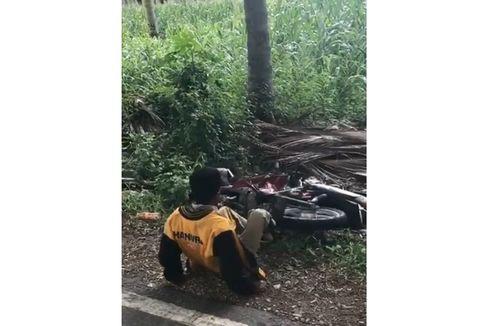 Viral Seorang Pria Ngamuk dan Rusak Motor karena Tolak Ditilang, Ini Penjelasan Polisi